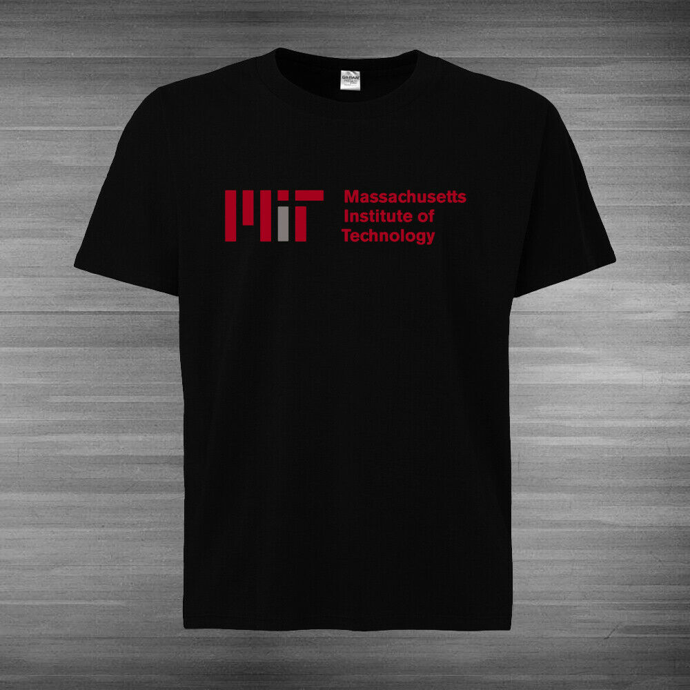 MIT- <font><b>Massachusetts</b></font> Institute of Technology Logo T-SHIRT ALL SIZE GUARANTEE 100% image