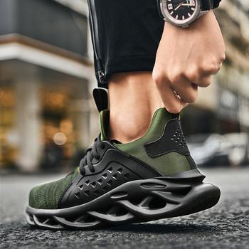 Men Casual Shoes Plus Size 14 Fashion Shoes Shockproof Lack Up Breathable Male Sneakers Height Increase Walking Gym Shoes Man tanie i dobre opinie QZTHANP Mesh (air mesh) Wiosna jesień X-men casual shoes 48 Lace-up Stałe Oddychająca Pot-chłonnym light Wytrzymałe