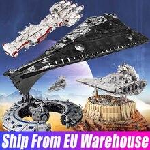 Форма King 13135 13134 Звездные игрушки, модель ISD Monarch Star Модель эсминца UCS строительные блоки, Детские кубики, подарки на день рождения