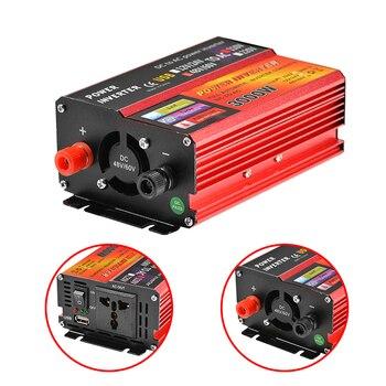 solar inverter 12v 220v 3000w peak voltage converter transformer dc 12v Solar Inverter 12V 220V 3000W Peak Voltage Converter Transformer DC 12V&24V 48V&60V To AC 110V/220V Auto Adapt Inversor