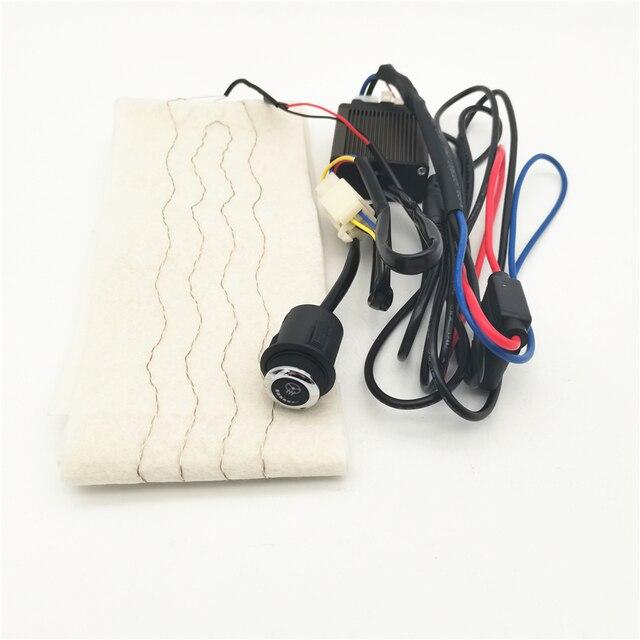 เส้นใยคาร์บอนไฟเบอร์Pad 6เกียร์LEDสวิทช์Universalสำหรับพวงมาลัยรถ