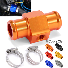 цена на 22mm Motorcycle Water Temp Temperature Joint Pipe Sensor Gauge Radiator Hose Adapter For KTM Honda Yamaha For Suzuki Kawasaki