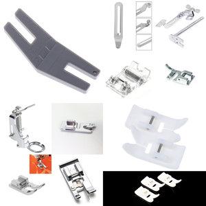 1 Uds prensatelas de rodillo de caña baja pie para Snap cantante hermano Janome arte en el hogar utensilios de máquina de coser suministros Accesorios
