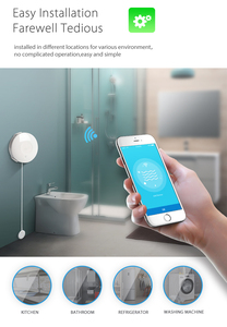 Image 5 - Tuya Smart Life WiFi Water Flood Sensor Water Leakage Detector Alarm Compatible IFTTT