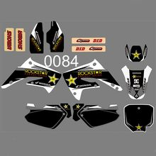 Graphics Decals Stickers Custom Number Name for Honda CR85R CR85 2003 2004 2005 2006 2007 2008 2009 2010 2011 2012 CR 85 85R