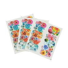 цена на Water Nail Stickers Cartoon Design Water Decal Sliders Wraps Tool Manicure Nail Art Decor Tips A14