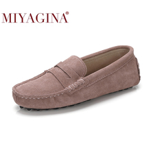 High Quality New Women Flats Genuine Leather Women Shoes Brand Driving Shoes Winter Spring Summer Women Casual Shoes