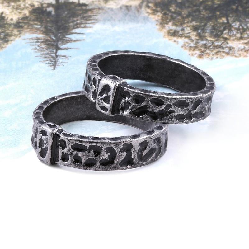 Cosdaddy claire randall jamie fraser antiguidade anel de metal cosplay adereços