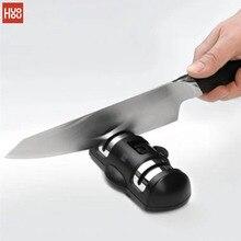Huohou 砥石ナイフシャープナー 2 段階キッチンシャープ石グラインダーナイフツールキッチン knifves 削りツール