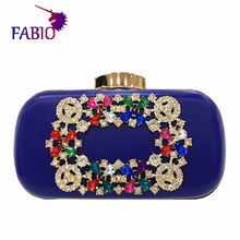 African Nigerian-style The party delicate diamond buckle bag