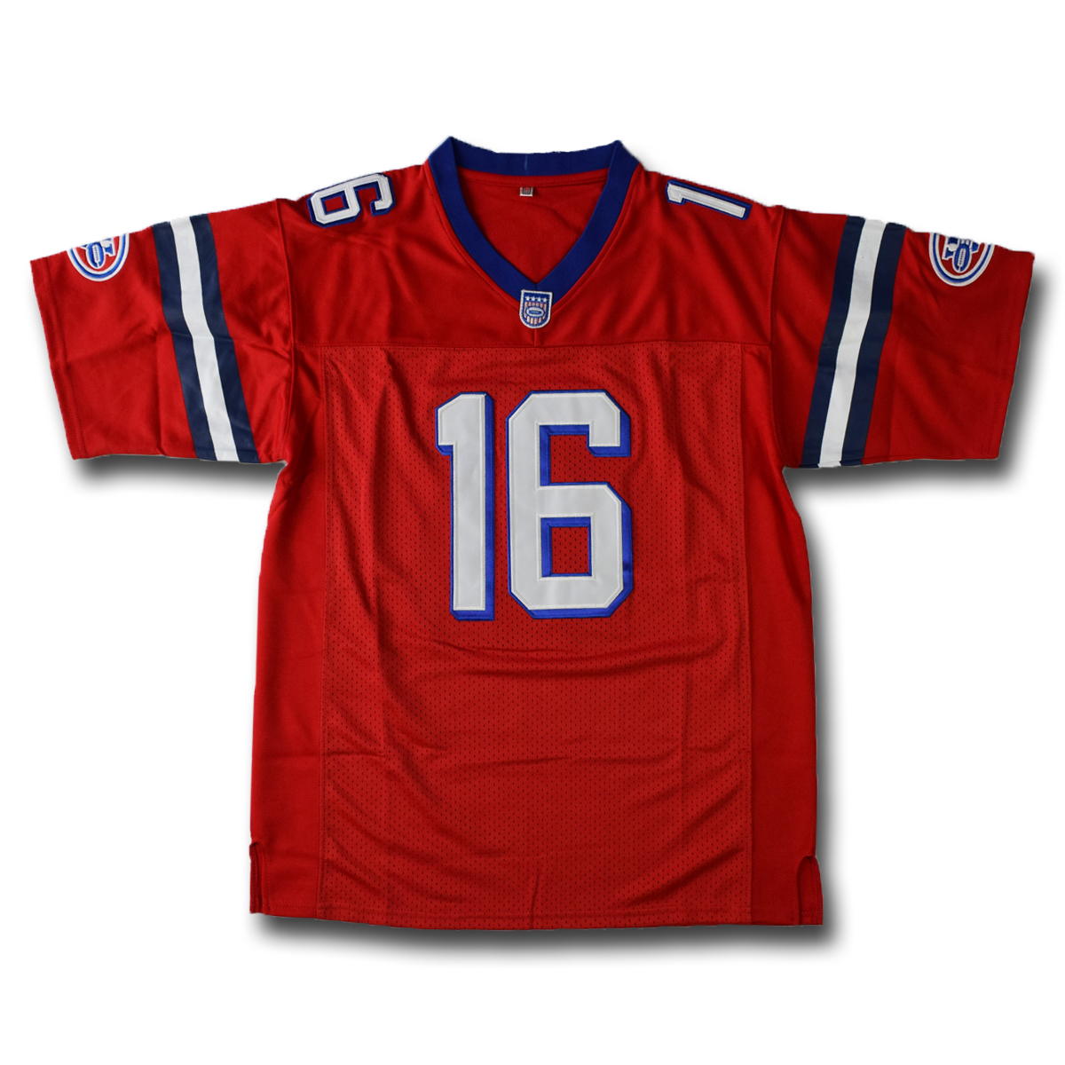Shane Falco #16 The Replacements Movie Men Football Jersey Stitched Red S-3XL High Quality