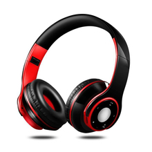 Folding Wireless Headphones Casque Audio Bluetooth Headphone Stereo Subwoofer Over ear Headset with Mic Support FM TF SD Card стоимость