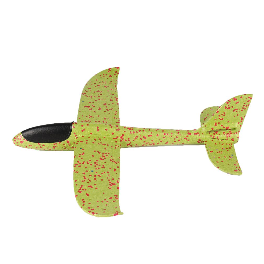 48cm Big Hand Throw Airplane Flying Foam Glider Plane Inertia Aircraft Toy Hand Launch Mini Airplane Outdoor Toys for Children image