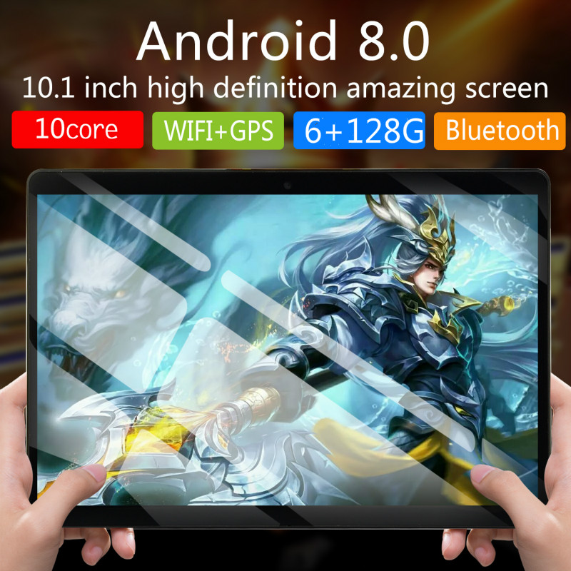 2020 Free Shipping 1280*800 IP 10 Inch 4G Call Phone Tablet PC Android 8.0 10 Core RAM 6GB ROM 16GB 64GB 128GB  Android Tablet