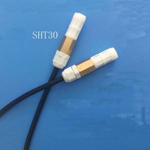 Image 2 - 1pc digital sensor I2C Wasserdichte temperatur und feuchtigkeit sensor SHT30 sensor sonde I2C boden sensor für blume kindergarten