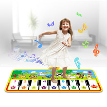 7 Styles Big Size Baby Musical Mat Toys Piano Toy Infantil Music Playing Mat Kids Early Education Learning Children Gifts