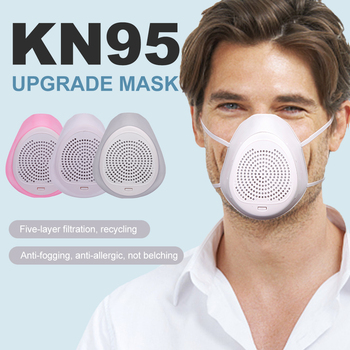Unisex Adult Silicone Mouth Mask Recyclable Outdoor Protective Mask Filters Auto Filter Respirator Mask Proof Flu Face masks