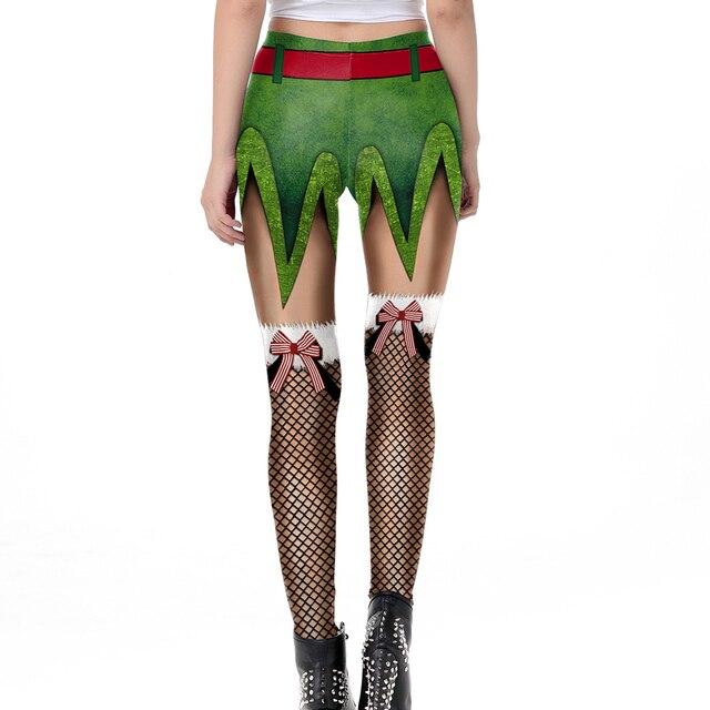 3D Christmas Leggings 4