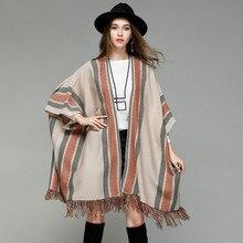Осенне-зимняя шаль с кисточками, куртка, длинный свитер, свитер для беременных, платье, зимняя одежда для беременных, Свитера для беременных женщин