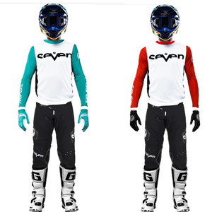 2021 SEVEN ZERO Moto Gear Set Stream Fox MX Jersey Set BMX ATV Dirt Bike Suit Motocross Suit