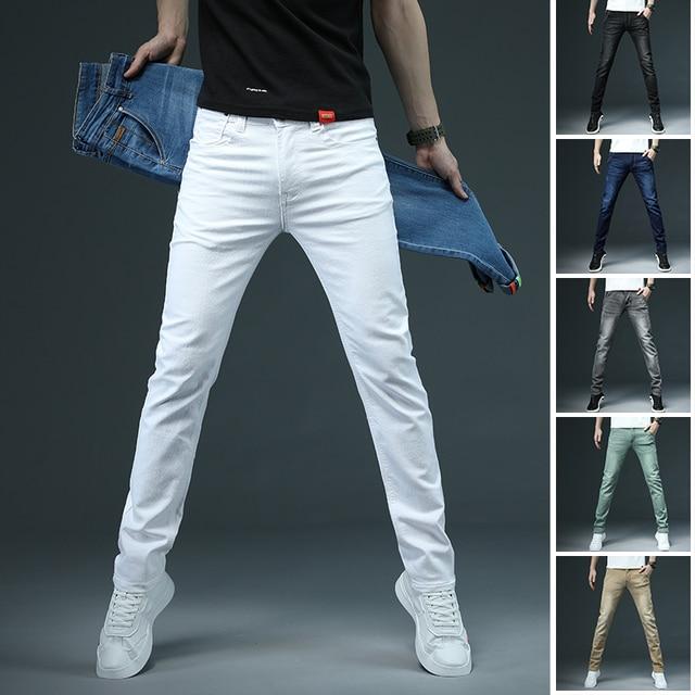 Casual Stretch Skinny Jeans 4