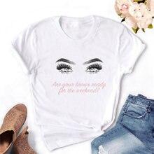 Модная Повседневная футболка с круглым вырезом и короткими рукавами