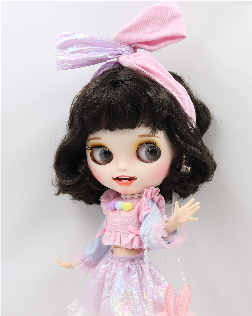 Jovita – Premium Custom Blythe Doll with Smiling Face 1