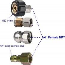 Für Karcher K2 K3 K4 K5 K6 K7 Hochdruck Washer Schlauch, 1/4 zoll NPT, Abflussrohr, ablauf Rohr Und Dreh Kanalisation Düse