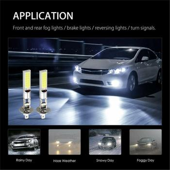 1pcs H1/H3 Headlamp High Beam Fog Lamp Headlamp 10W 12V LED Halogen Lamps Fog Lights For Cars Vehicle Lamp Drop Shipping image