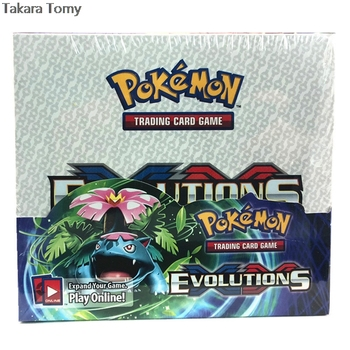 New arrival 2020 Evolutions  Pokemones fashion children game cards 36packs*9pcs  Cards games for children 1