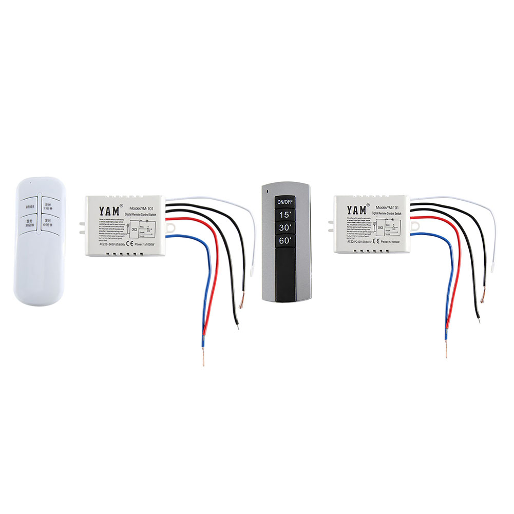 WirelessUVC Lamp Remote Control15 30 60 Timer Switch Transmitter Receiver For Home Sterilizer Disinfection Deodor
