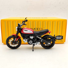 Diecast Models Red Motorcycle for D--Cati Scrambler Icon 803CC Rosso TSMMC004 1/12