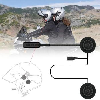 MH01 Motorcycle Helmet Headset Automatically Answer Anti-interference For Motorcycle Helmet Helmet Guide Hands Headphone