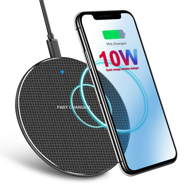 Camfutr 10W Qi Wireless Charger For Samsung Galaxy S10 S9