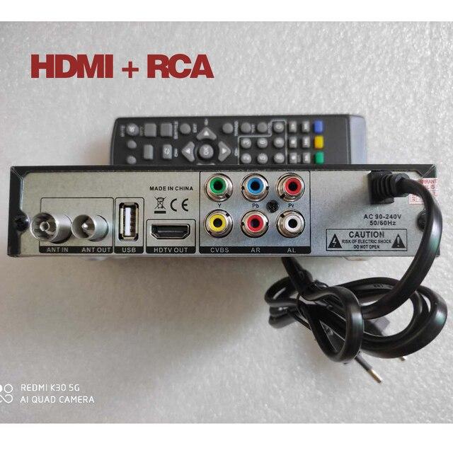 T2 H.265 Receiver HD digital DVB LENY Sat