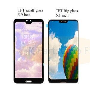 "Image 3 - TFT 6.1 ""LCD Für Huawei P20 Pro LCD mit rahmen Display Screen Touch Digitizer Montage P20 Pro CLT AL01 l29 Lcd P20 Plus Display"