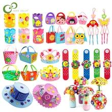 EVA пенопластовая бумага, нетканый материал, игрушки для рукоделия, Обучающие игрушки, игрушки ручной работы, художественное ремесло, креативные игрушки для детей GYH