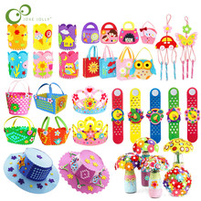 Jouets artisanaux éducatifs, papier mousse EVA, tissu Non-tissé, jouets de bricolage artisanal fait à la main, jeux, développement créatif pour enfants GYH
