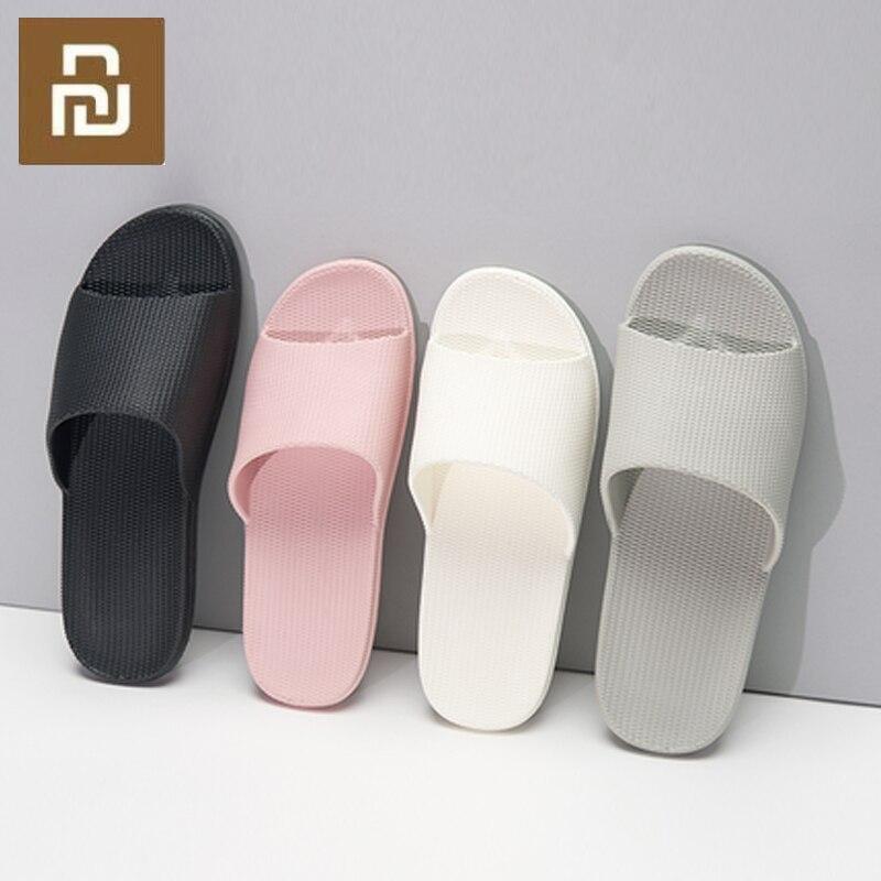 Xiaomi Haushalt Pantoffel EVA Weiche Anti slip Slipper Flip Flops Sommer Sandalen Männer Frauen Unisex Loafer Haushalt Liefert