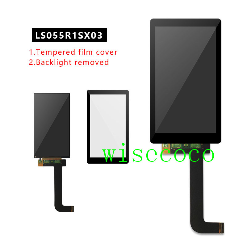 5.5 inch Glass Protector for SLA printer Thingiverse TOS/ Wanhao Duplicator 7 DLP 3D printer LS055R1SX04/LS055R1SX03 LCD Assembl(China)
