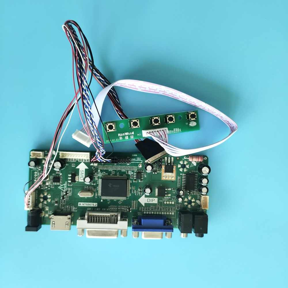 "Voor LP156WH2 15.6 ""Driver Board Vga 1366X768 Hdmi Monitor Card Lcd Led Controller Kit Lvds Scherm"