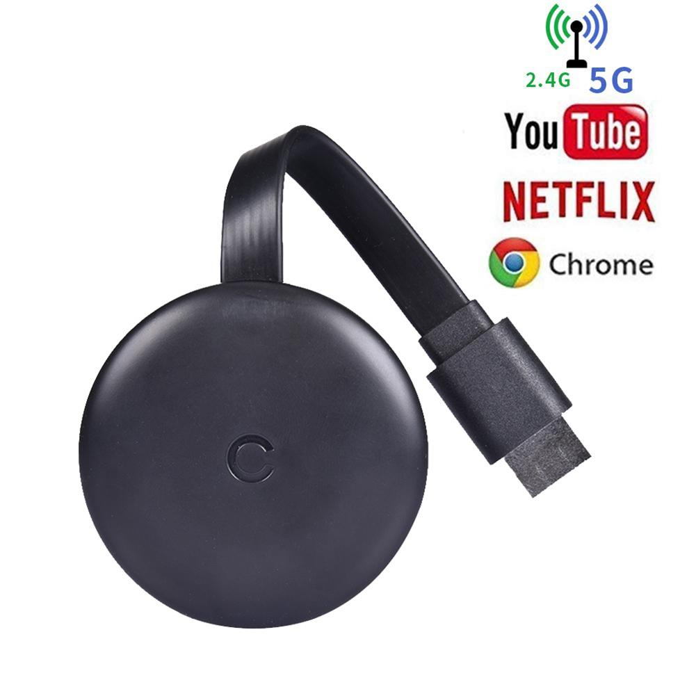 2,4G/5G 4K Drahtlose WiFi Mirroring Kabel HDMI Adapter 1080P Display Dongle Für IPhone Samsung xiaomi Huawei <font><b>Android</b></font> Telefon Zu <font><b>TV</b></font> image