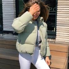 Helisopus 캐주얼 코튼 두꺼운 파카 오버 코트 겨울 따뜻한 패션 아우터 코트 Parkas Women Streetwear Jacket