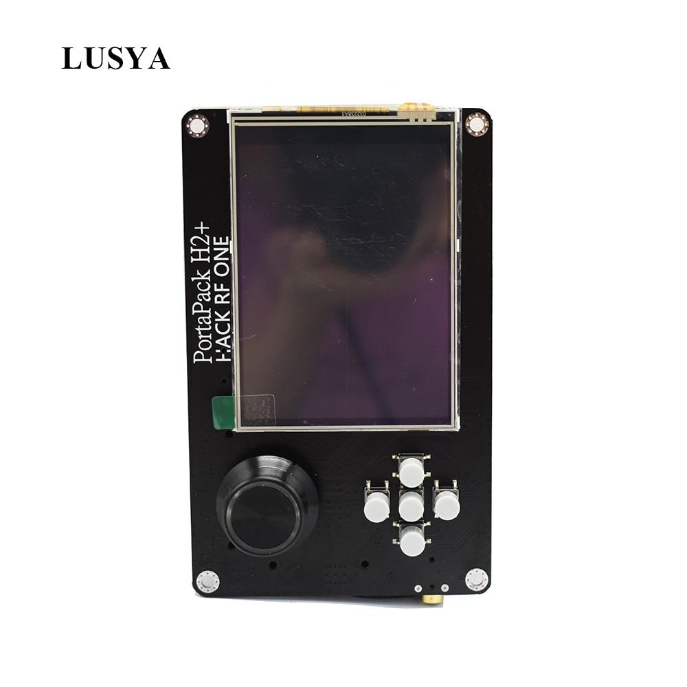 Lusya 3,2 дюймов сенсорный экран ЖК-дисплей PORTAPACK H2 консоли 0.5ppm TXCO с 2100 мА/ч, Батарея для HackRF sdr-приемника Ham Радио C5-015