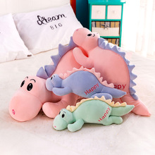 цены на 45/85CM cute plush dinosaur pillow stuffed animal soft doll dinosaur plush toy birthday gift child girl toy  в интернет-магазинах