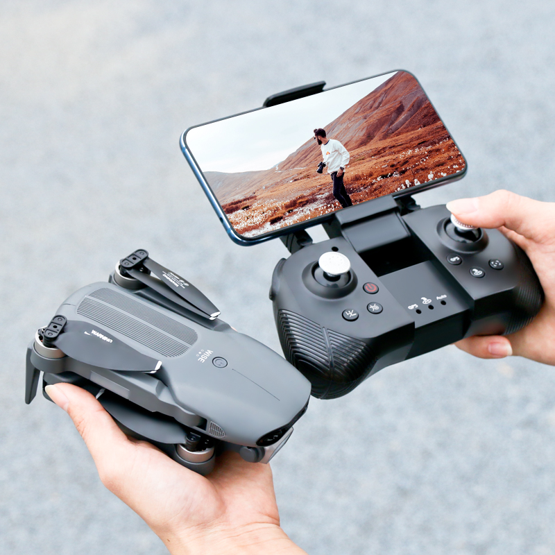 2021 mini F9 drone 6K dual HD camera 4K professional aerial photography brushless motor foldable quadcopter RC distance 1200M 6