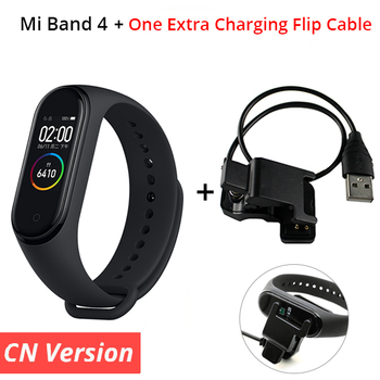 In Stock ! 2019 New Xiaomi Mi Band 4 Smart Color Screen Bracelet Heart Rate Fitness 135mAh Bluetooth 5.0 Waterproof Smart Watch 12