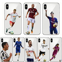 soft clear case sports football soccer star phone cover for iphone 7 6 5 6s 8 plus 5s se x xr xs 11 pro max