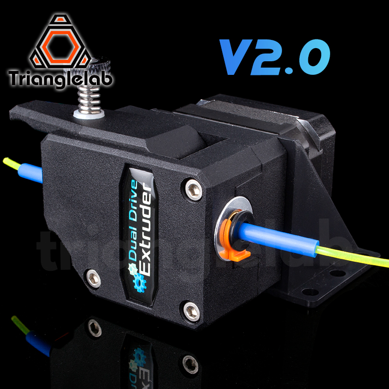 Trianglelab High Performance BMG Extruder V2 0 Cloned Btech Bowden Extruder Dual Drive Extruder for 3d printer ENDER3 CR10 MK8