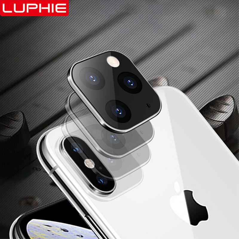 Luphie Camera Lens Sticker For IPhone X XS MAX Seconds Change 11 Pro For IPhone 11 PRO MAX Modified Camera Cover Titanium Alloy